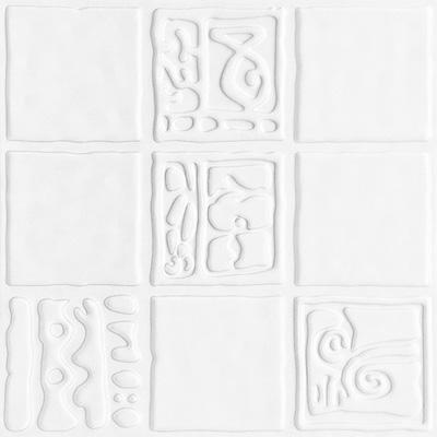 全屋吊顶丨巴洛克系列 300X300铝扣板 型号【MC1508C白】