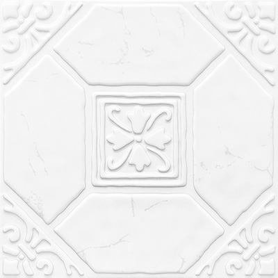 全屋吊顶丨巴洛克系列 300X300铝扣板 型号【MC1616白】