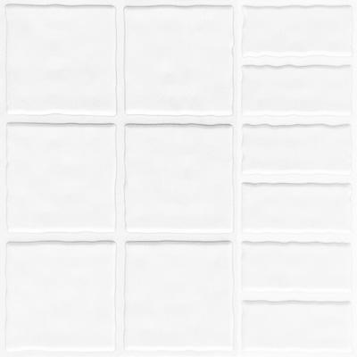 全屋吊顶丨巴洛克系列 300X300铝扣板 型号【MC1500B白】
